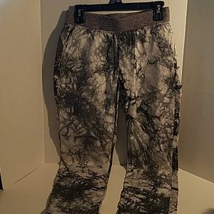 CAbi Marble Gray Women's Baggy Joggers Size XS